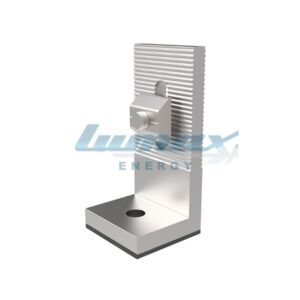 L Bracket with nut and bolt